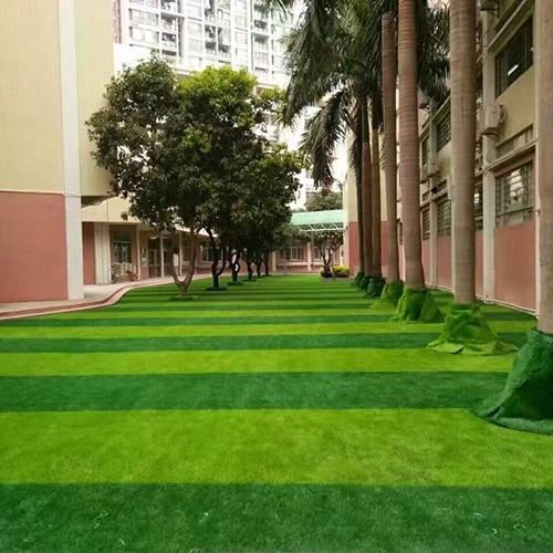 深圳龙华中英文学校 人造草坪