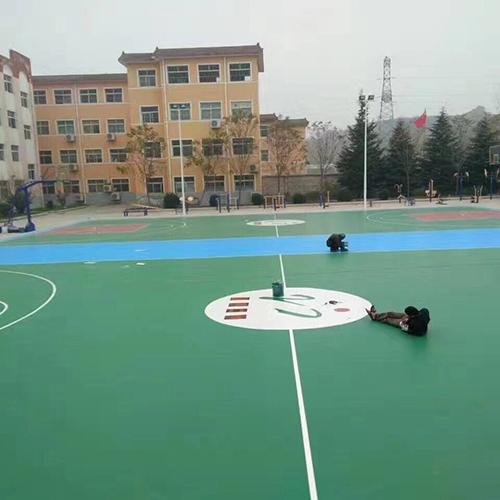 河南三门峡硅PU球场
