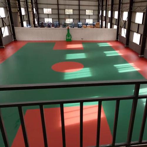 西藏林芝室内硅PU球场